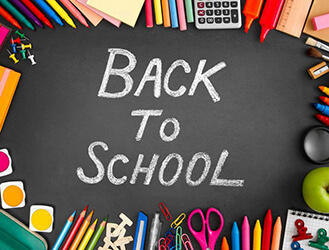 Back To School, It's Almost Time!