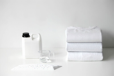 Special Care Tips for White Garments